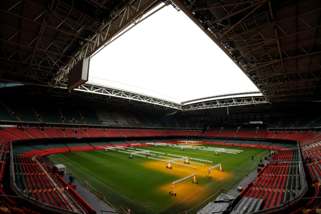 ملعب نهائي دوري أبطال أوروبا في كارديف عاصمة ويلز (1)