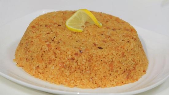 طريقة عمل الأرز الصيادية1