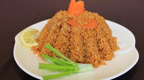 طريقة عمل الأرز الصيادية5