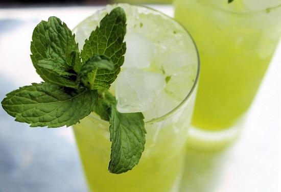 طريقة عمل الليمون بالنعناع (3)