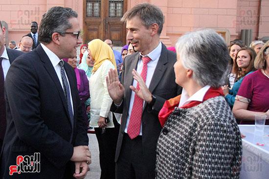 جانب من الحفل فى المتحف المصرى