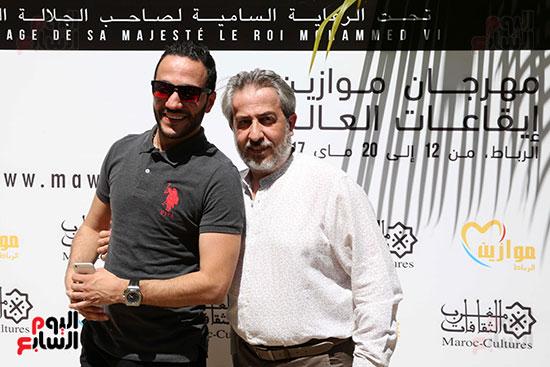 حسين الديك مهرجان موازين (2)