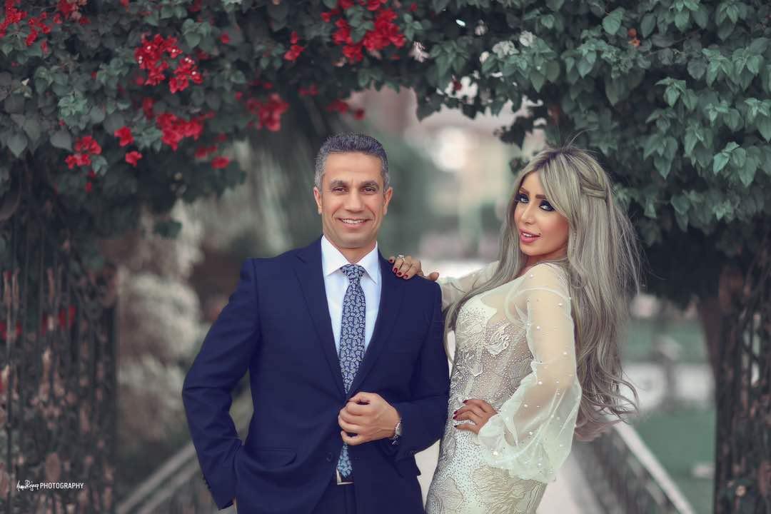 العروسان من حفل عقد القران