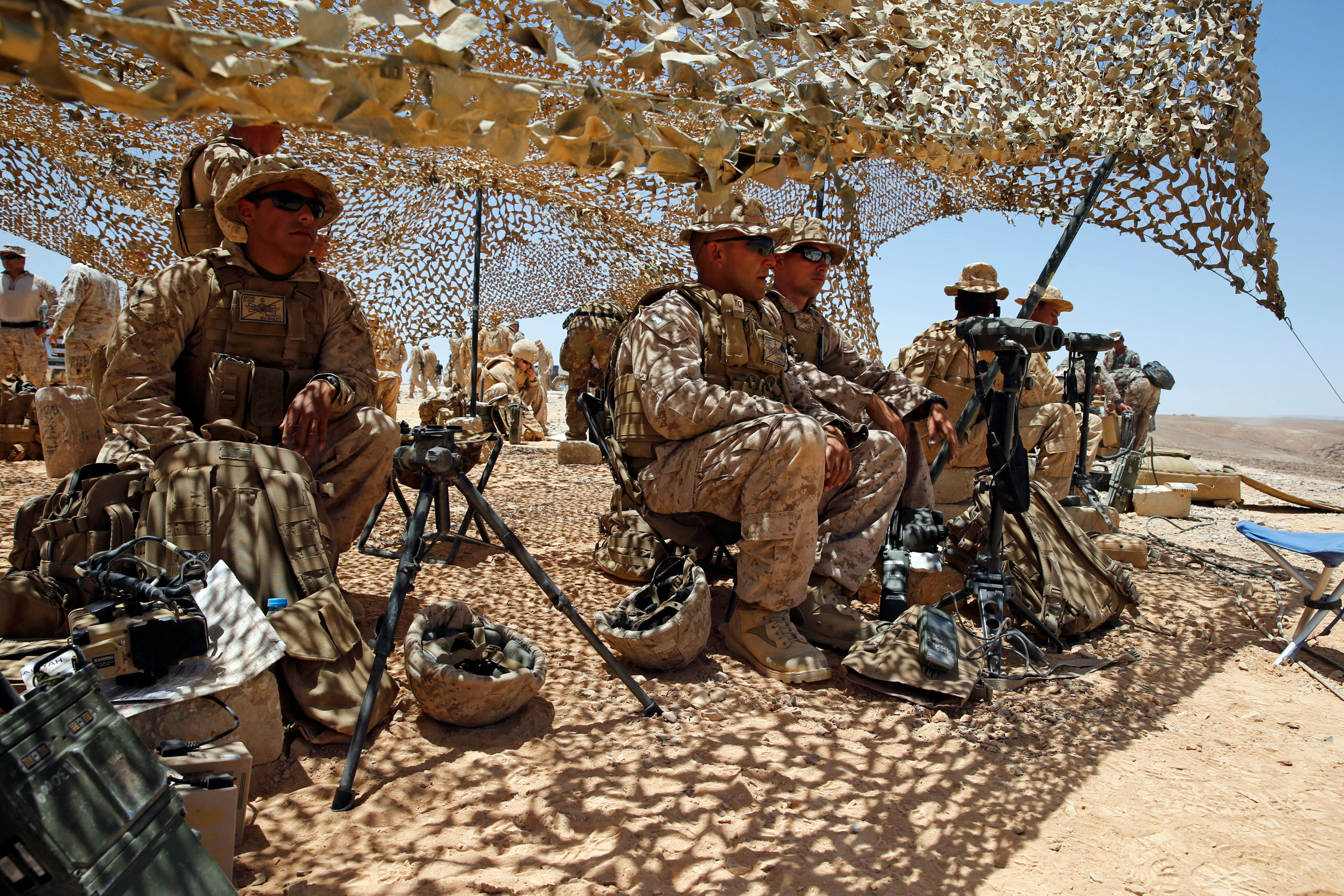 الجنود الأمريكيين