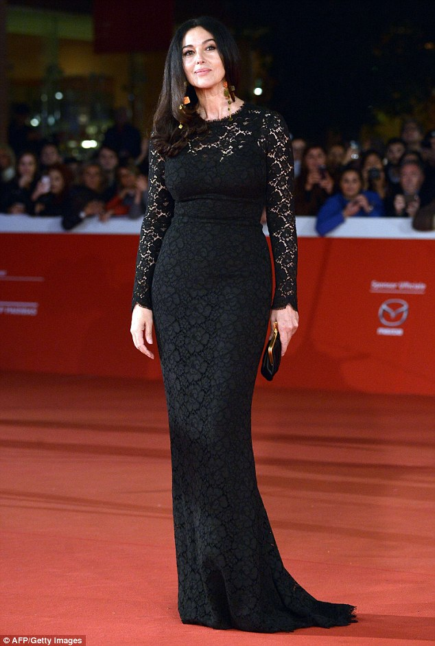 مونيكا بيلوتشى فى مهرجان روما السينيمائى 2015