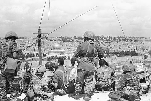 جيش الاحتلال قبل دخلوله القدس