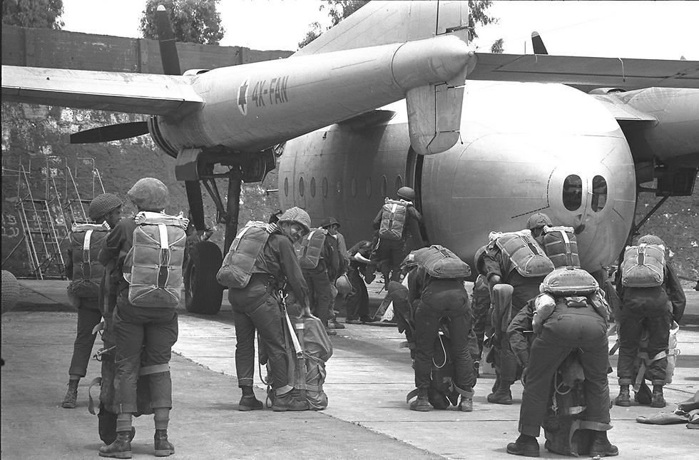 القوات الجوية الاسرائيلية خلال حرب 67