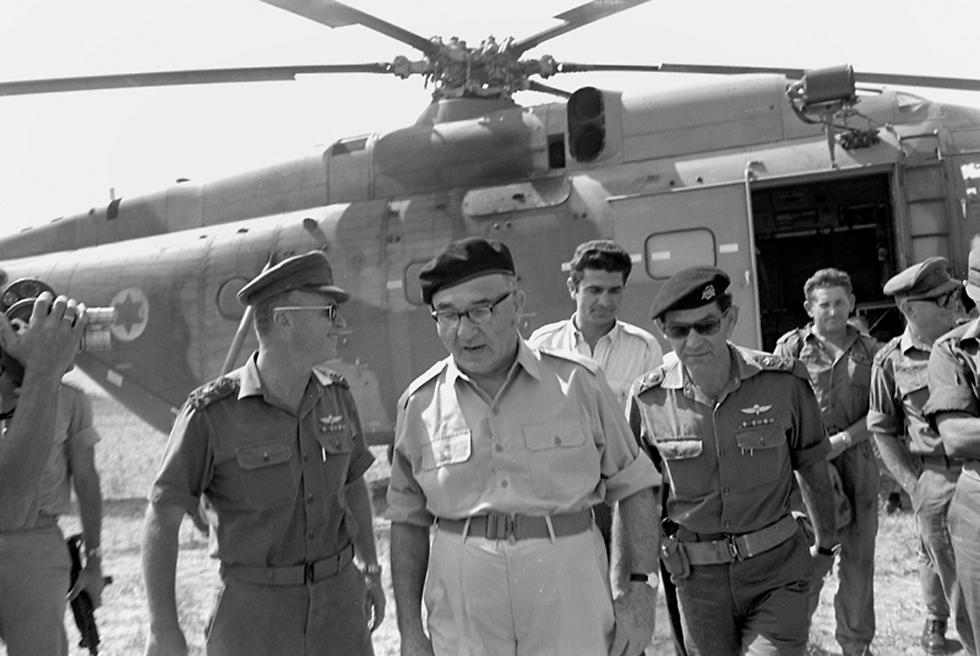 ليفى اشكول خلال حرب 67