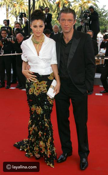 مونيكا بيلوتشى وفنسنت كاسل فى مهرجان كان 2006