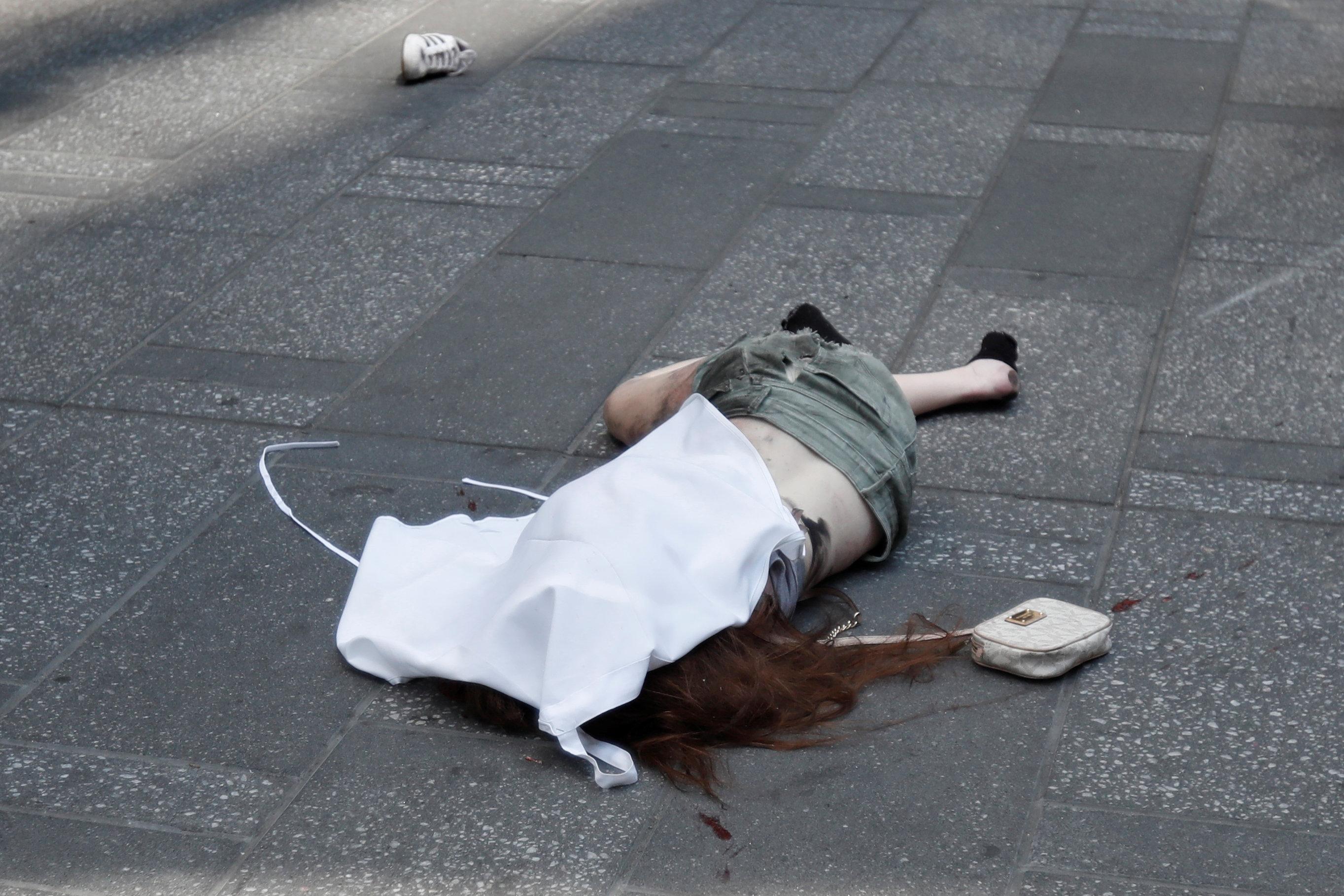 قتيل حادث الدهس فى نيويورك