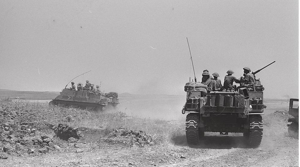 قوات المدرعات الاسرائيلية فى حرب 67
