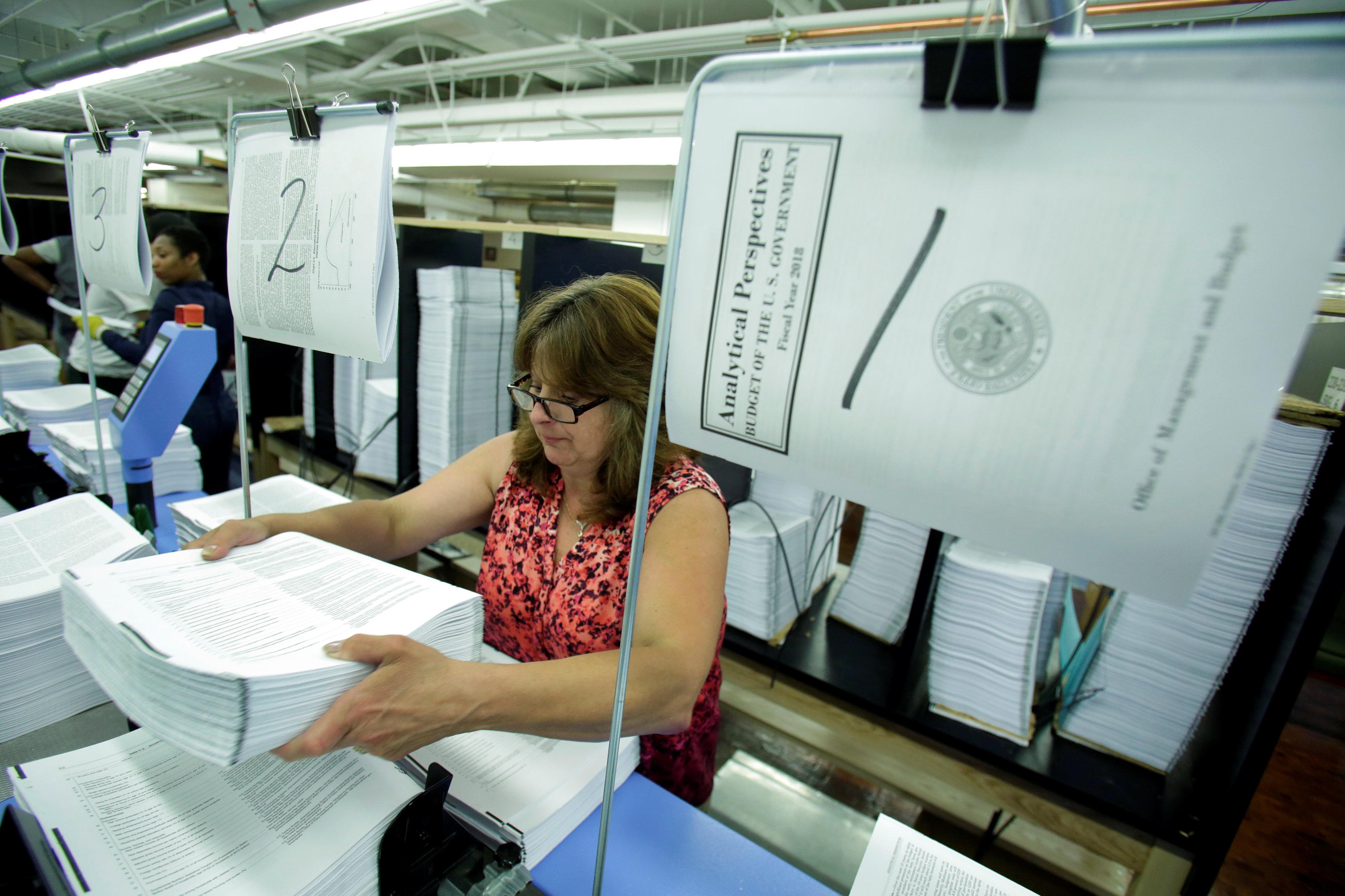جانب من عملية الطباعة