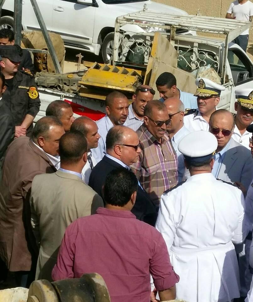 حملات ازالة تعديات على اراضى الدولة بالقاهرة (5)