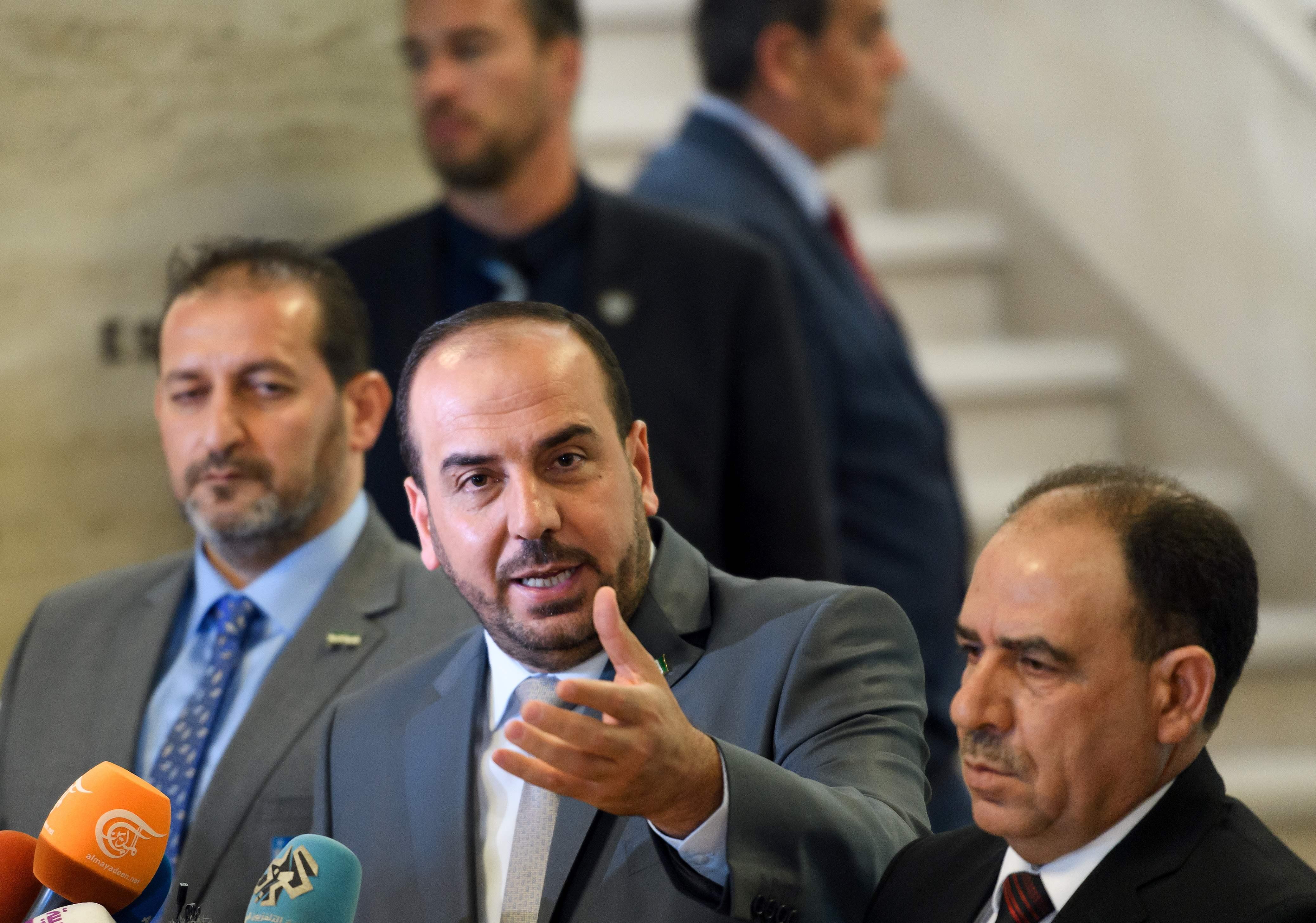 ناصر الحريري المعارض السوري