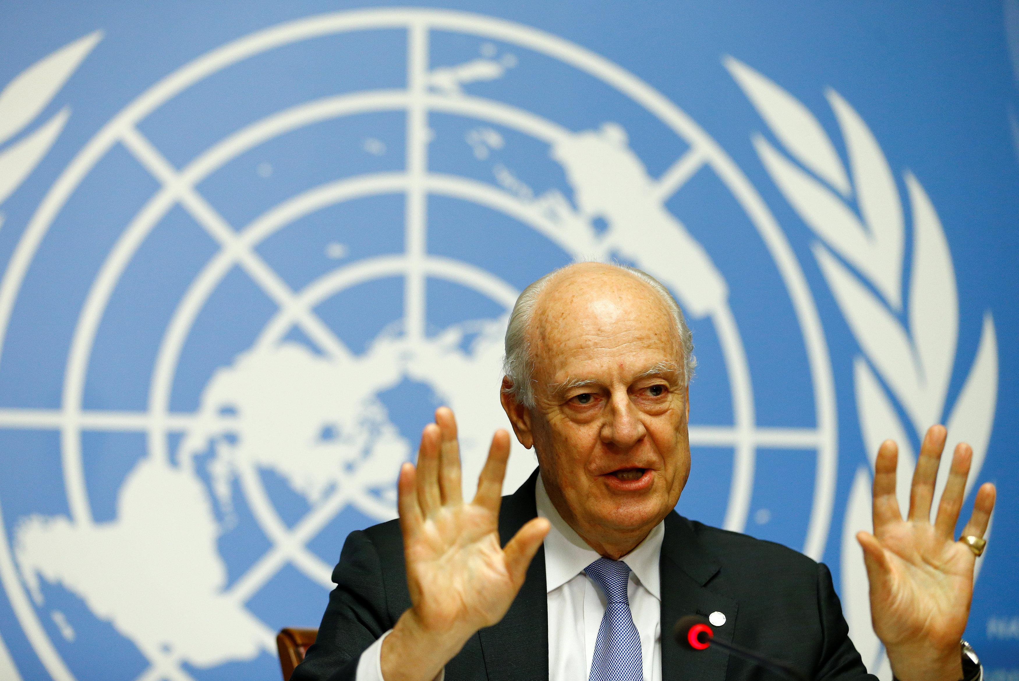 المبعوث الأممى لسوريا