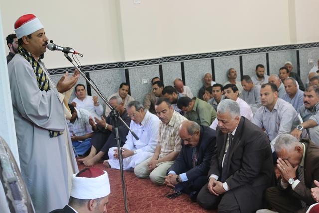 إفتتاح مسجد سيدي صالح بقرية سلكا بتكلفة 2 مليون جنيه بالجهود الذاتية (7)