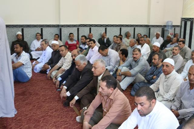 إفتتاح مسجد سيدي صالح بقرية سلكا بتكلفة 2 مليون جنيه بالجهود الذاتية (5)