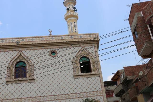 إفتتاح مسجد سيدي صالح بقرية سلكا بتكلفة 2 مليون جنيه بالجهود الذاتية (1)
