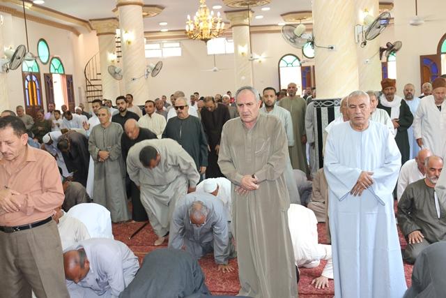 إفتتاح مسجد سيدي صالح بقرية سلكا بتكلفة 2 مليون جنيه بالجهود الذاتية (2)