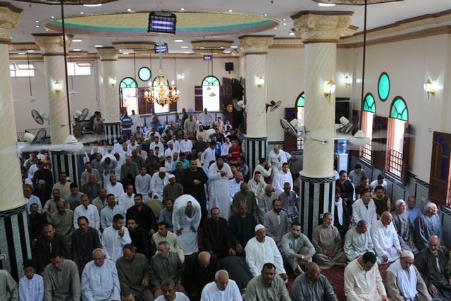 إفتتاح مسجد سيدي صالح بقرية سلكا بتكلفة 2 مليون جنيه بالجهود الذاتية (3)