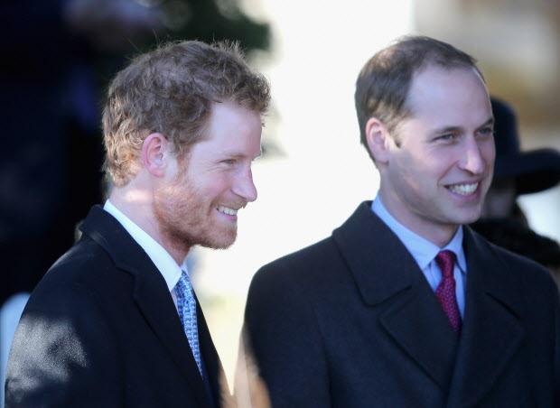 الأميرين ويليام و هارى