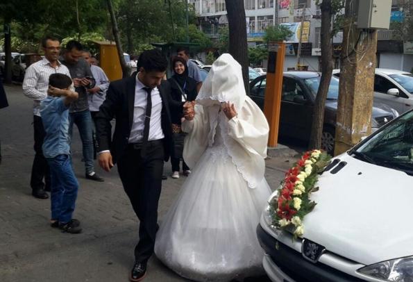 العروسان في إيران