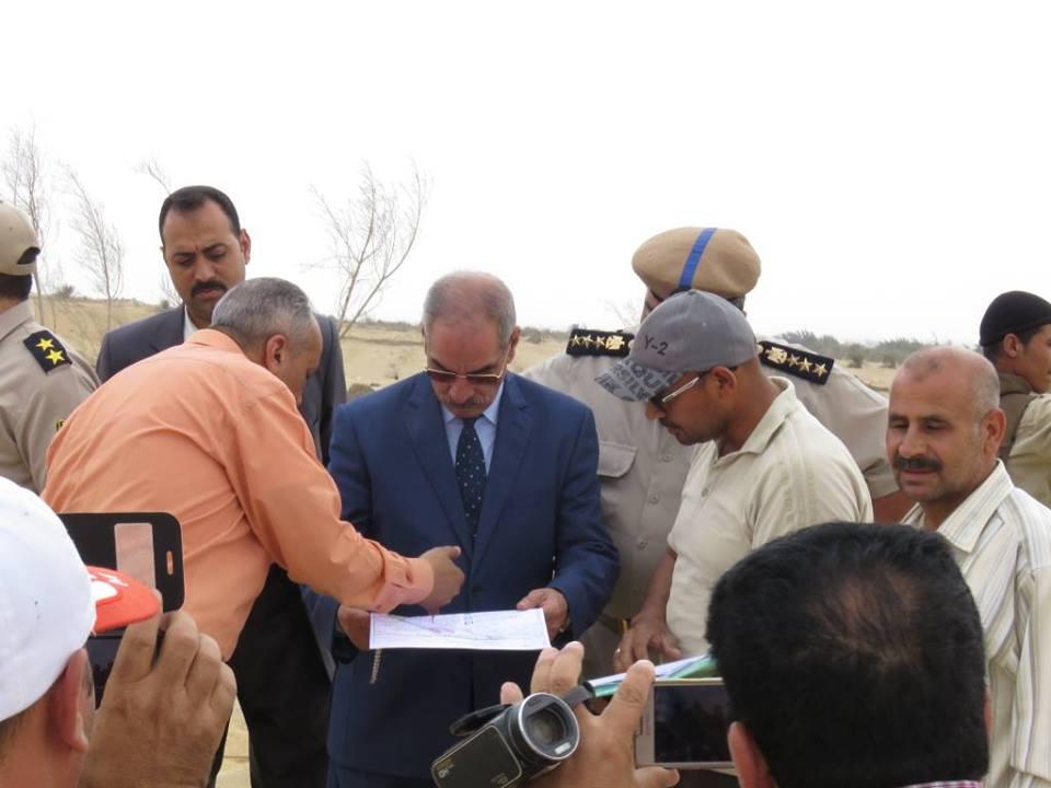 مدير أمن بنى سويف يشرف على تنفيذ الإزالات