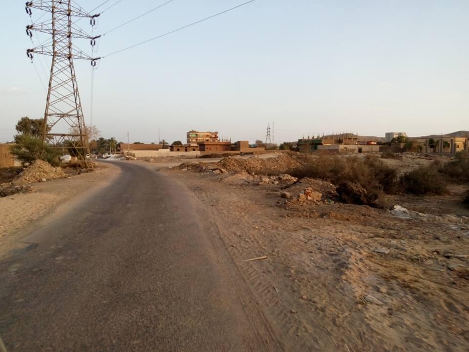 طريق محولات كهرباء السراج (2)