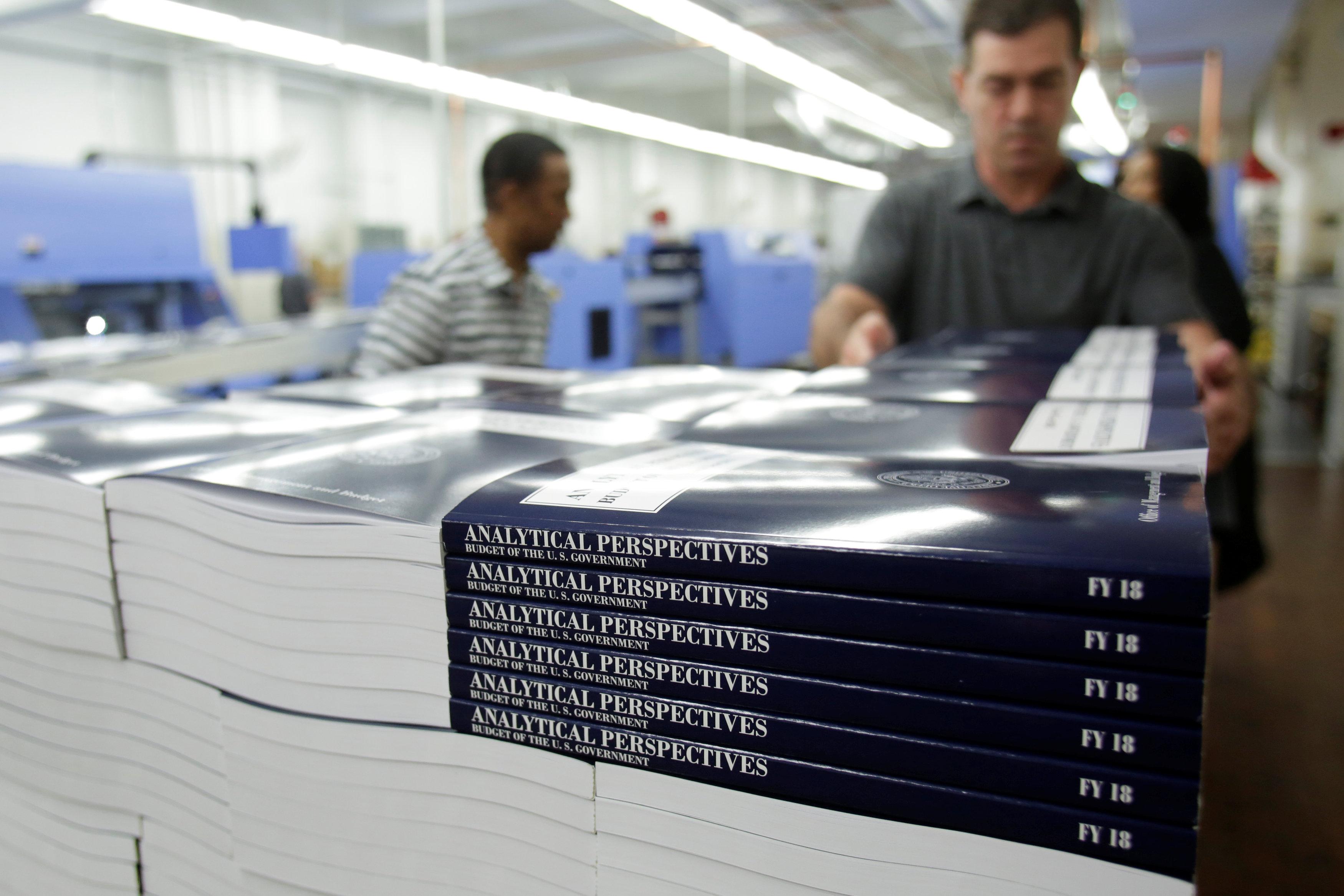 كتاب الميزانية المالية بعد الطباعة