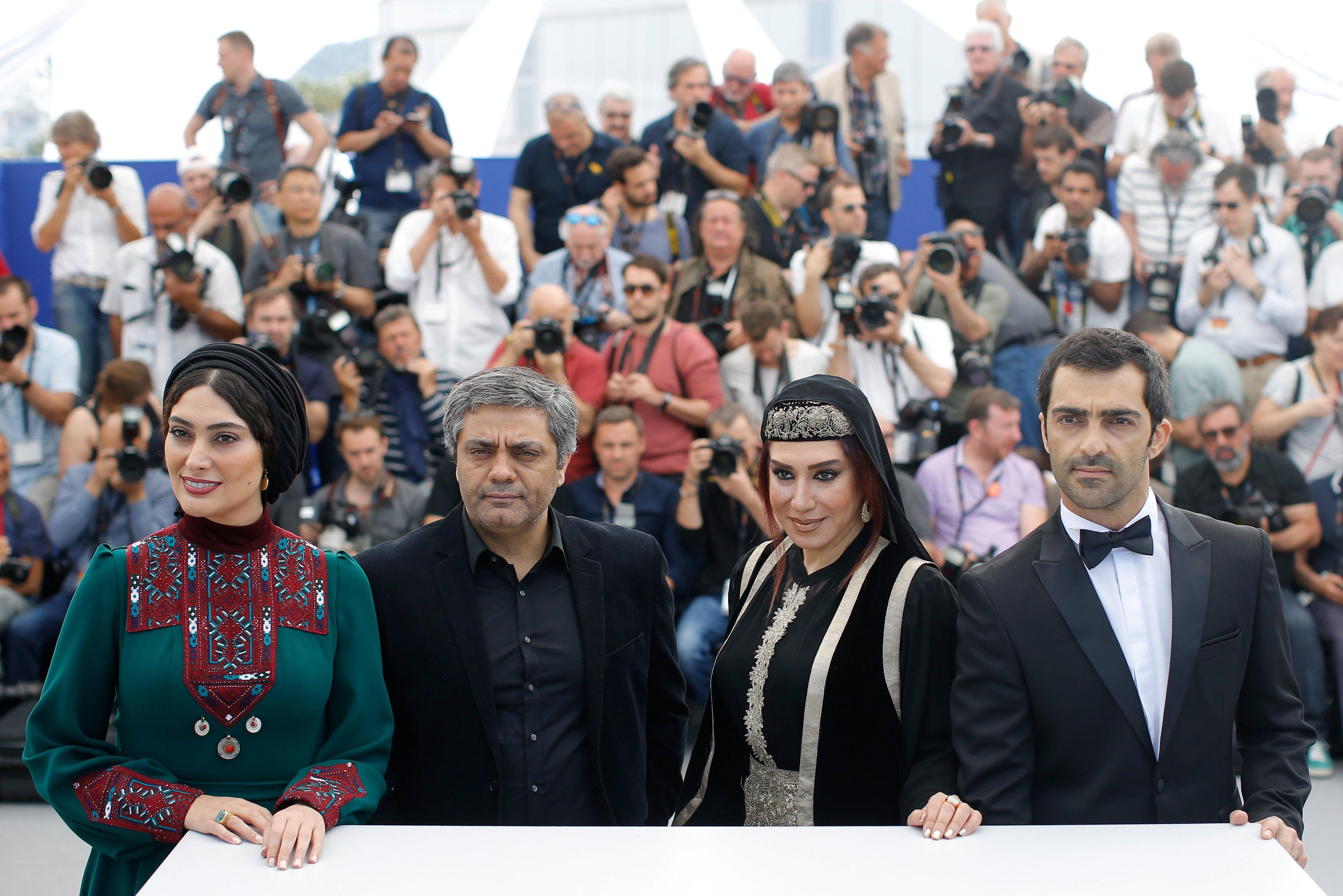 1166337-صناع-الفيلم-الإيراني--Lerd--في-كان