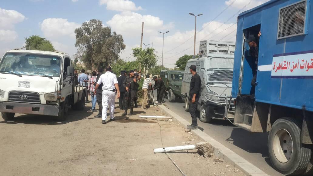 حملات ازالة تعديات على اراضى الدولة بالقاهرة (4)