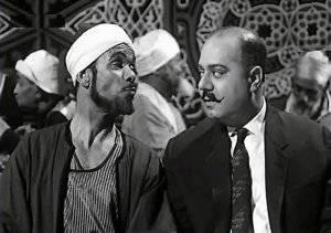 احد الشخصيات التي جسدها في فيلم مع الفنان صلاح منصور