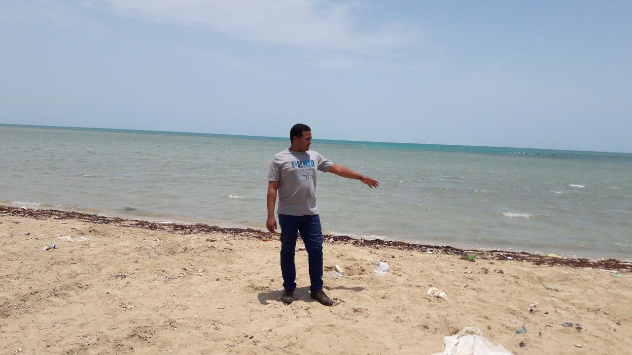 محرر اليوم السابع بشواطئ الشلاتين
