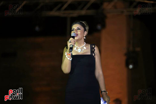 شقيقة رونالدو تشعل حفل افتتاح الباتروس أكوا بارك فى شرم الشيخ (7)