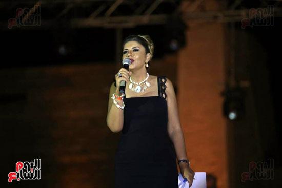 شقيقة رونالدو تشعل حفل افتتاح الباتروس أكوا بارك فى شرم الشيخ (11)