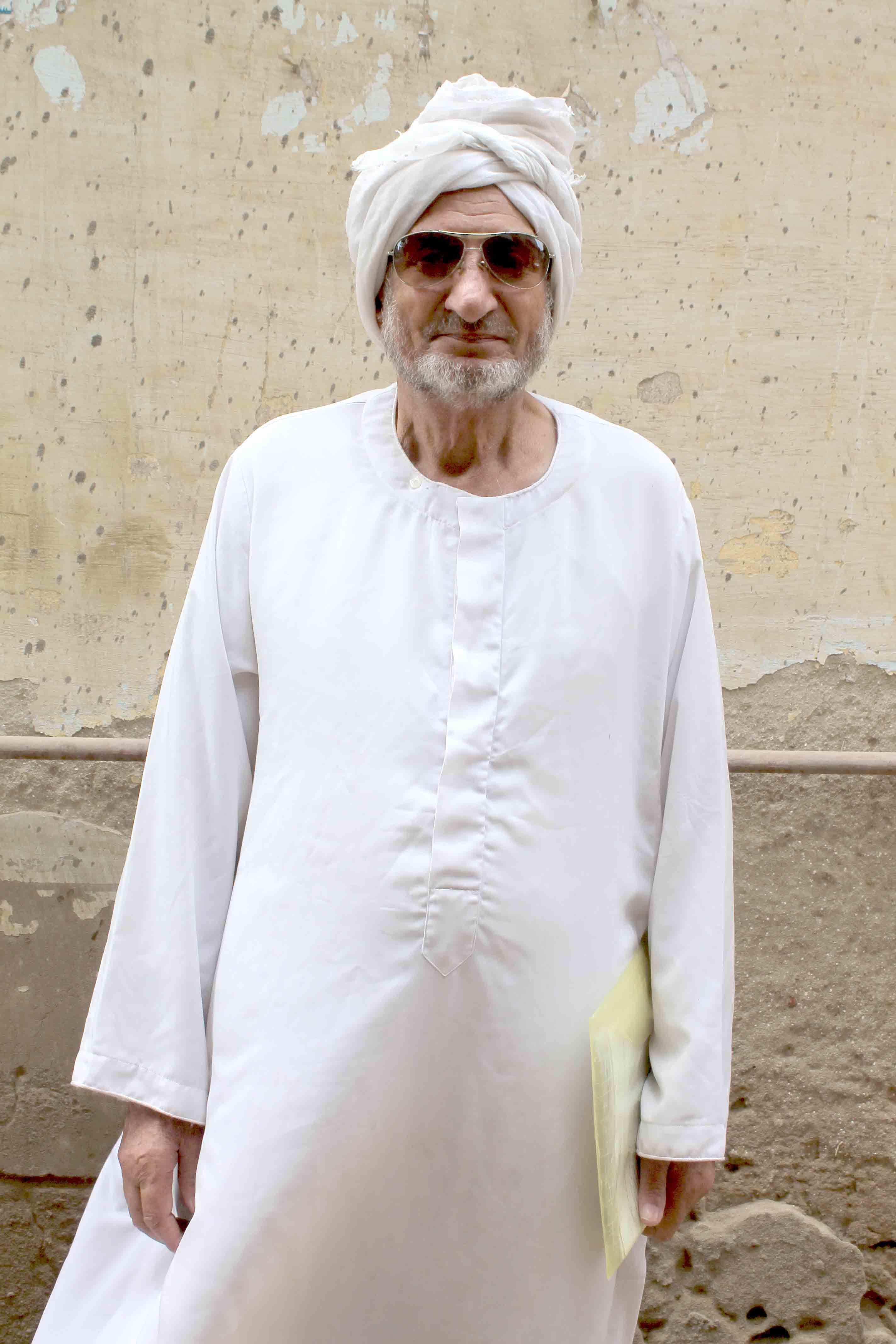 عم محمد داخل قريته