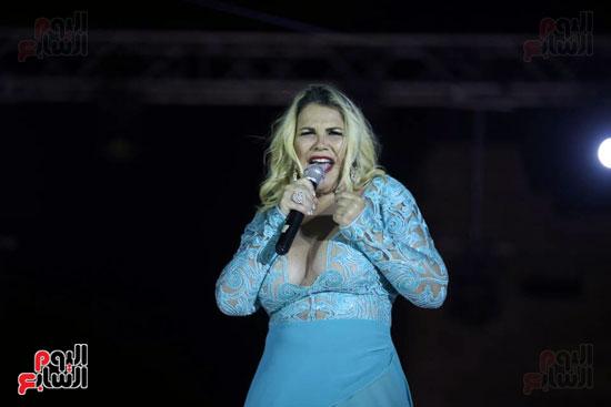 شقيقة رونالدو تشعل حفل افتتاح الباتروس أكوا بارك فى شرم الشيخ (4)