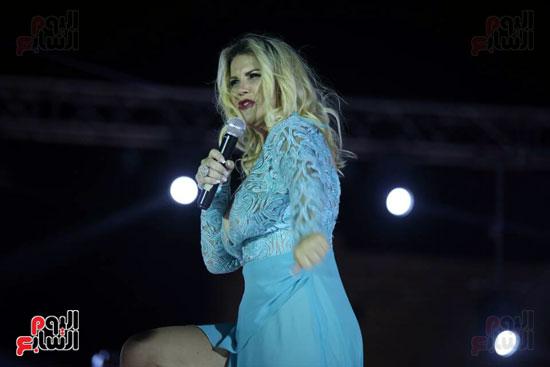 شقيقة رونالدو تشعل حفل افتتاح الباتروس أكوا بارك فى شرم الشيخ (6)