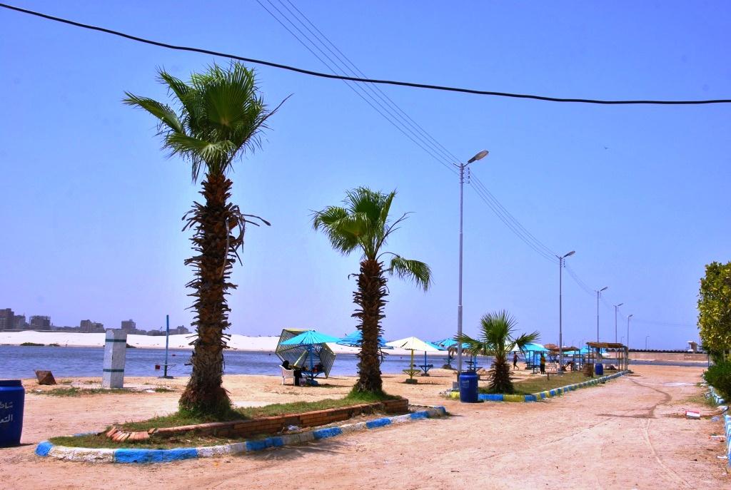 جانب من شواطئ فايد