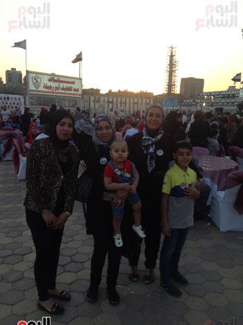 تكريم أهالى الشهداء بنادى الزمالك بحضور أعضاء بمجلس النواب (10)