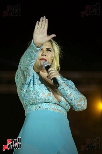 شقيقة رونالدو تشعل حفل افتتاح الباتروس أكوا بارك فى شرم الشيخ (3)