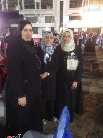 تكريم أهالى الشهداء بنادى الزمالك بحضور أعضاء بمجلس النواب (27)