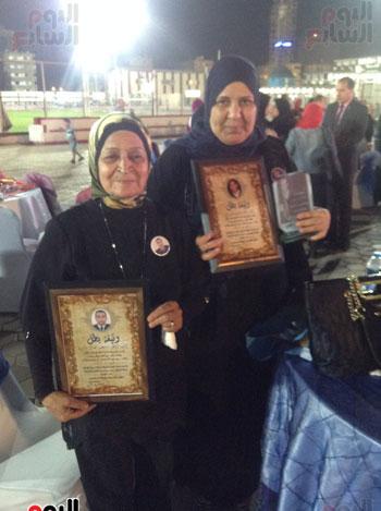 تكريم أهالى الشهداء بنادى الزمالك بحضور أعضاء بمجلس النواب (34)