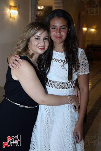 شقيقة رونالدو تشعل حفل افتتاح الباتروس أكوا بارك فى شرم الشيخ (20)