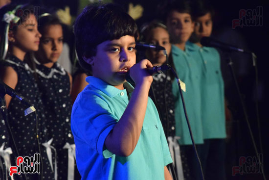 أطفال مدرسة دار الطفل يتألقون بحفلهم السنوى بجامعة MSA (12)