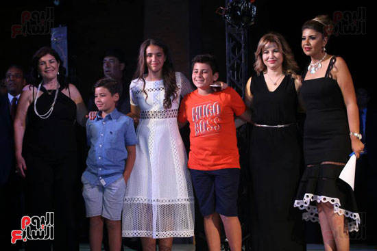 شقيقة رونالدو تشعل حفل افتتاح الباتروس أكوا بارك فى شرم الشيخ (31)