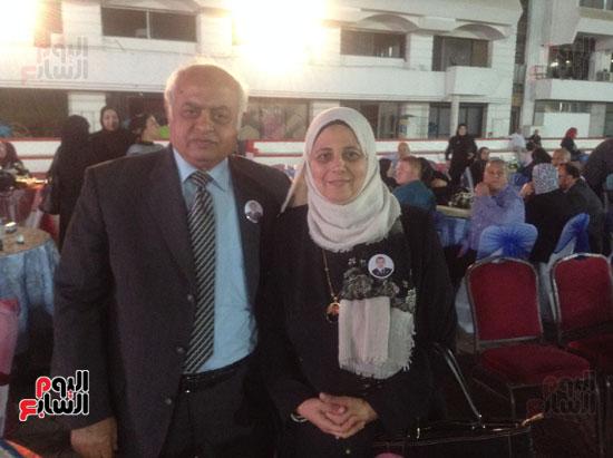 تكريم أهالى الشهداء بنادى الزمالك بحضور أعضاء بمجلس النواب (32)