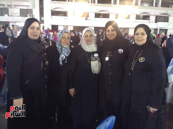 تكريم أهالى الشهداء بنادى الزمالك بحضور أعضاء بمجلس النواب (28)