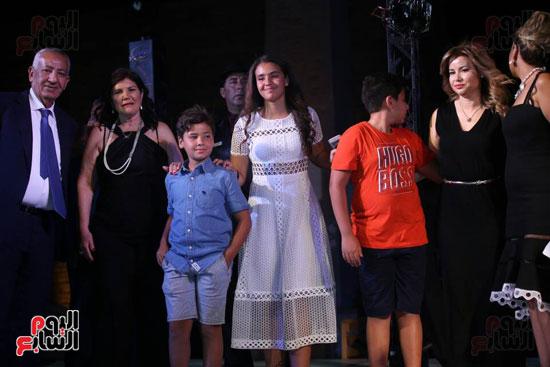 شقيقة رونالدو تشعل حفل افتتاح الباتروس أكوا بارك فى شرم الشيخ (32)