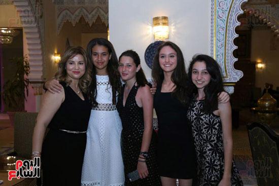 شقيقة رونالدو تشعل حفل افتتاح الباتروس أكوا بارك فى شرم الشيخ (21)